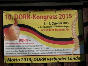 Impressionen 10. Dorn Kongress 03. und 04. Oktober 2015